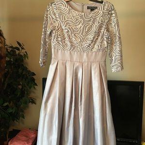 Stunning gray dress NEW from Dillards